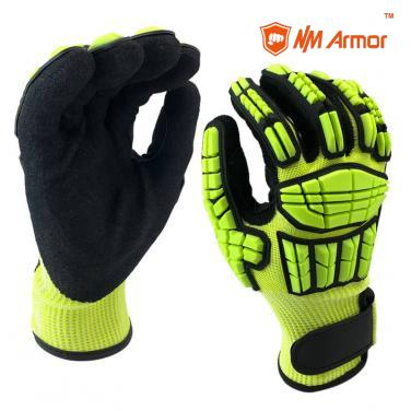 EN388:4544EPANSI CUT 5 Anti-Vibration Protective Safety Work Glove-DY1350AC-A5