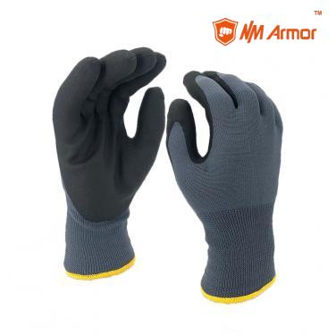 Black Pvc Foam Glove Winter WaterProof-PVC1350DS-GR/BLK