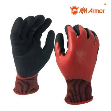 Top gloves latex coated gloves work non slip gloves-NM1359DC-H