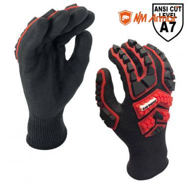 EN388:4544EP ISEA 138 Level 3 Max Anti-Impact Work Glove -DY1350AC3-H7