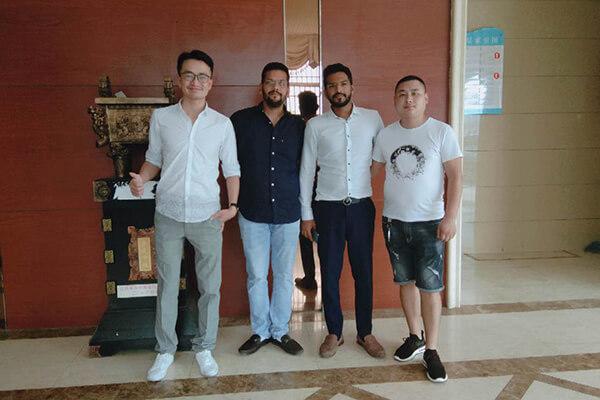 India Customer Visiting