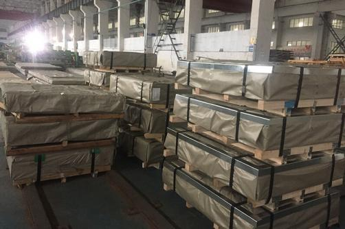 321 Cold Rolled Stainless Steel Sheet