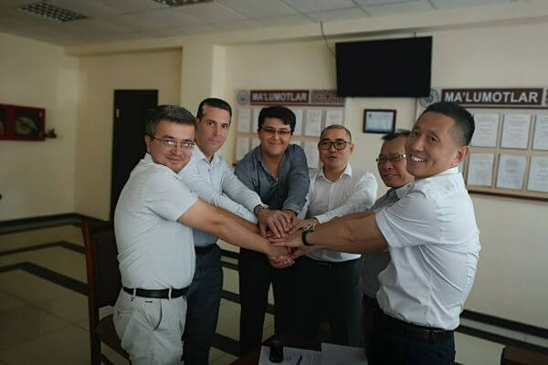 2019.06.12 AVP GROUP WAS ESTABLISHED Uzbekistan BRANCH