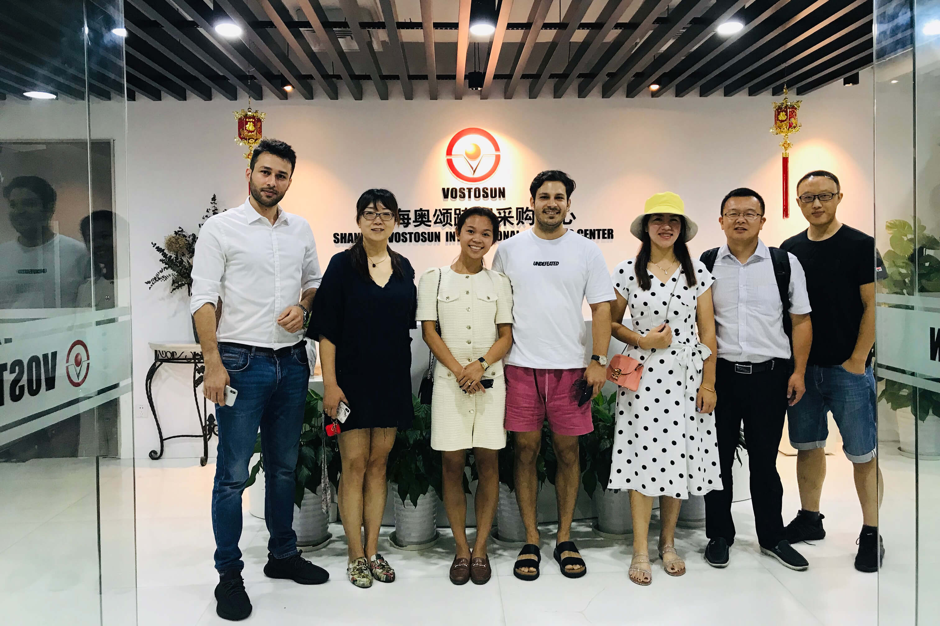 July 31, 2019, customers from Iran visited our company to discuss cooperation intentions.