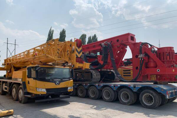 Mobile crane destined for Uzbekistan