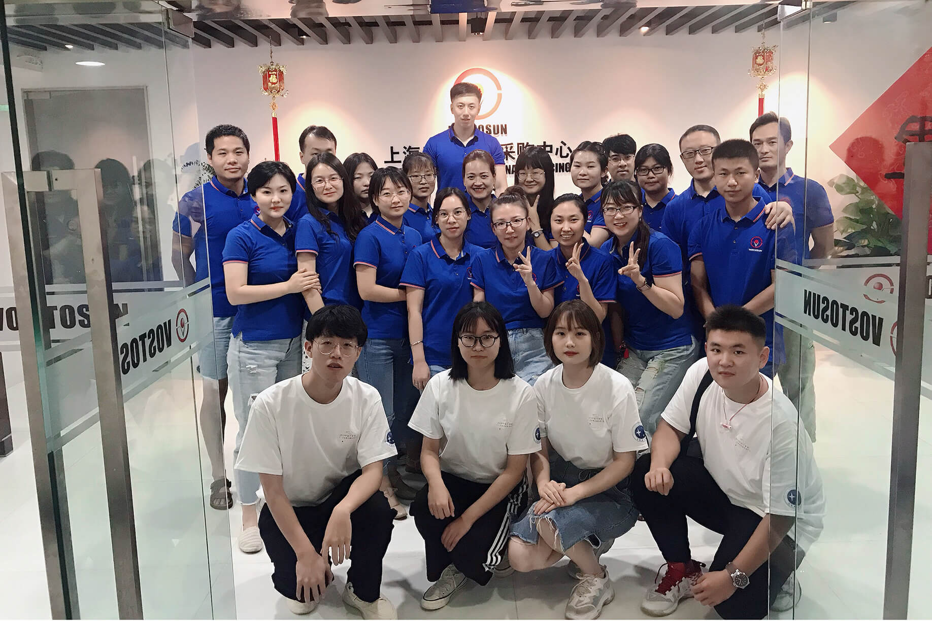 August 14, 2019,  college  representative students came to our company for interview