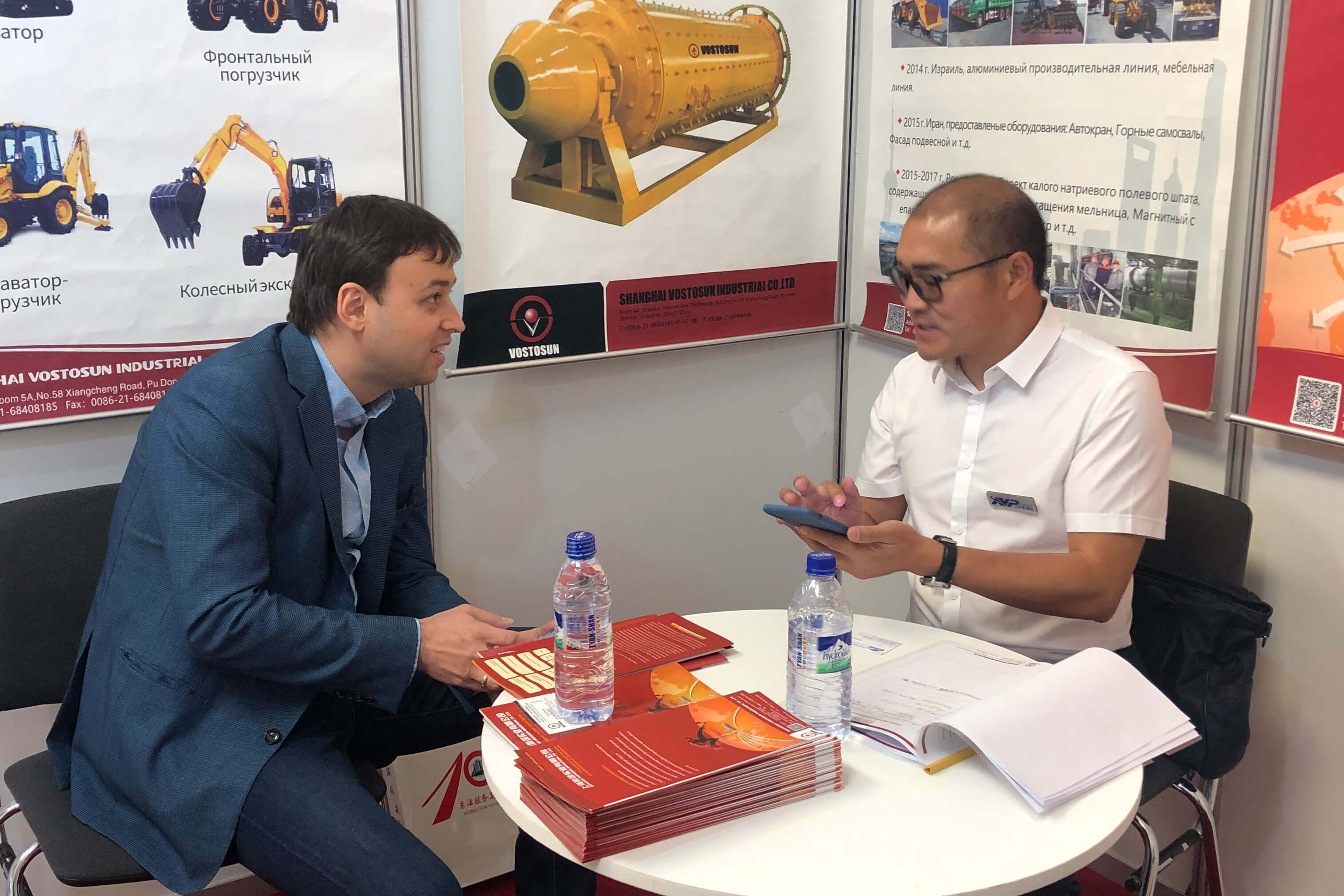 September 11, 2019,the first day of the Uzbekistan exhibition,many customers came to consult