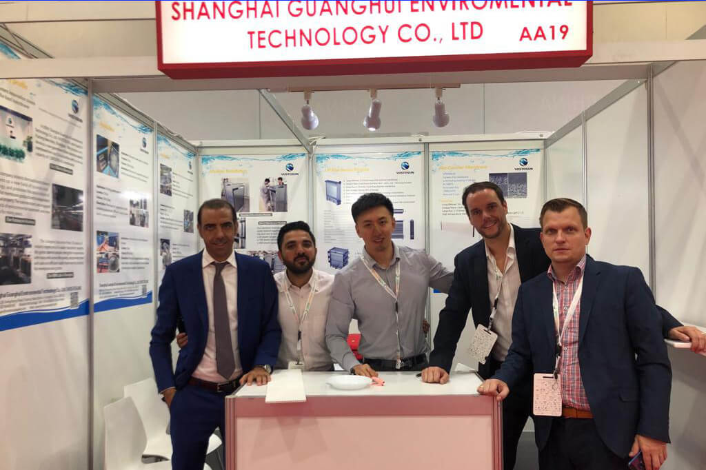 October 21st to 23rd, 2019, we took our water treatment project to the Dubai exhibition.