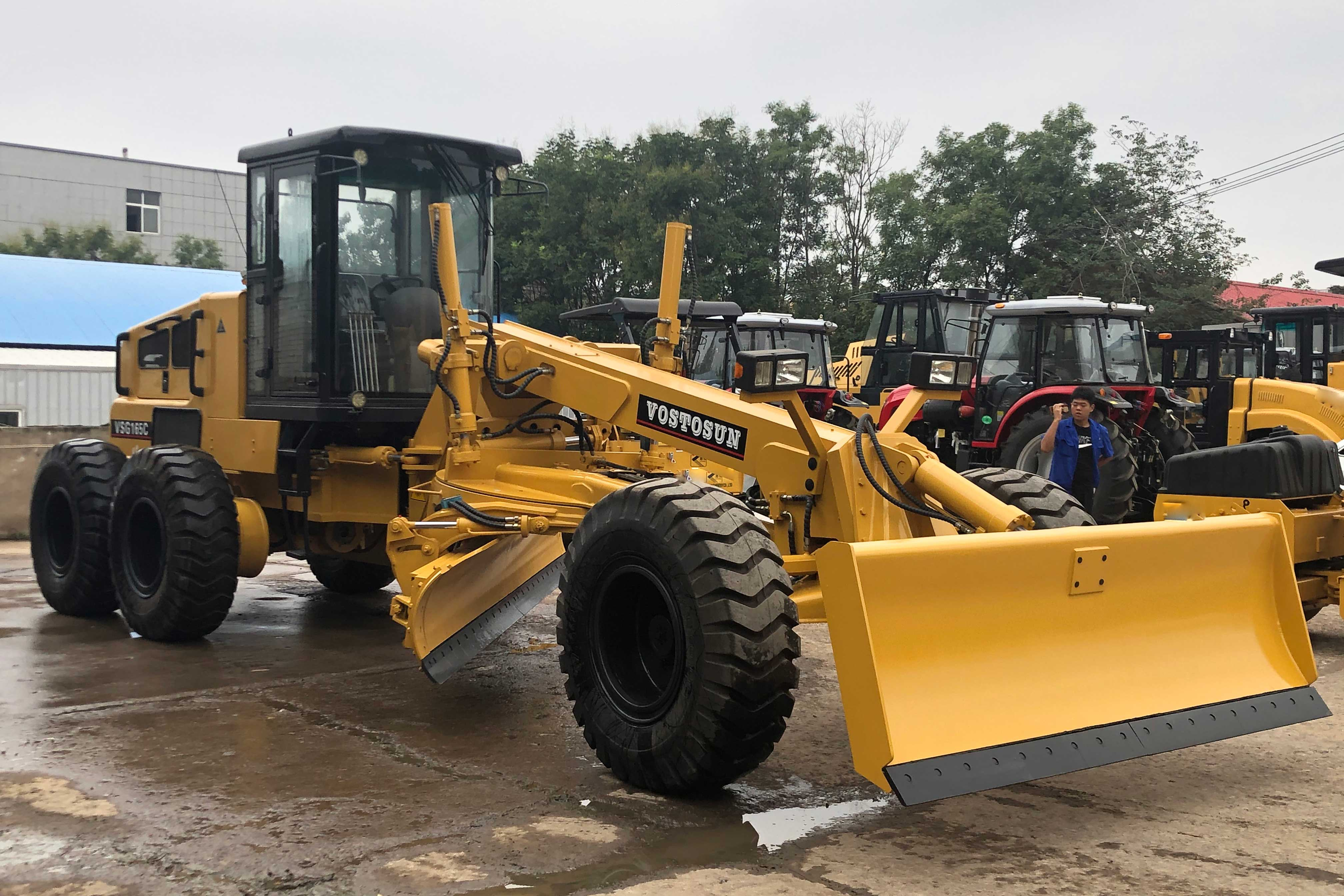 On August 27, 2020, VOSTOSUN's motor grader were packed and transported to Ukraine.