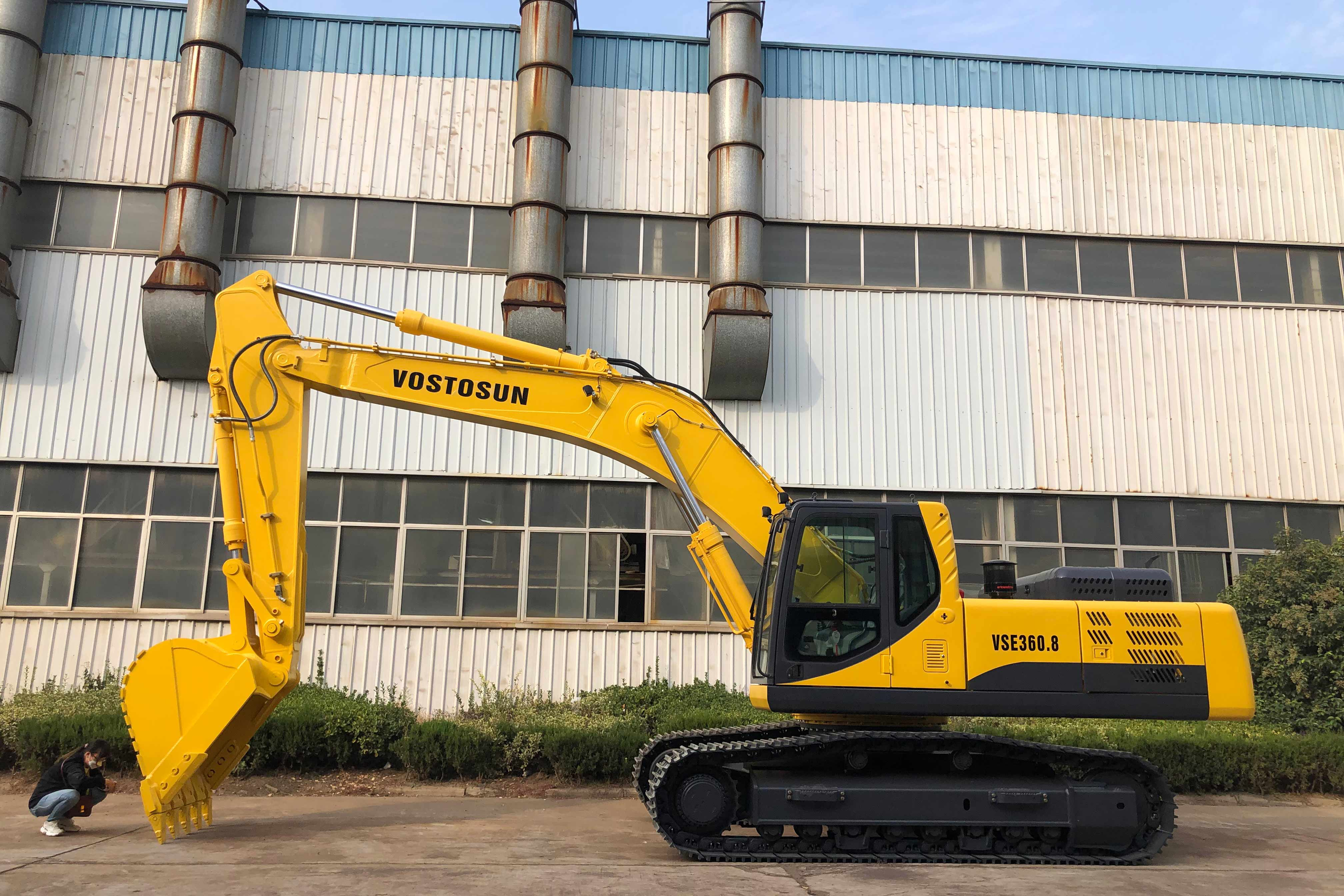 On October 13, 2020, the excavators purchased by a Nigerian customer began to be shipped.