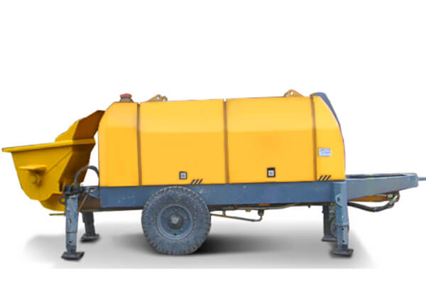 TRAILER CONCRETE PUMP HBT60.13.130RS