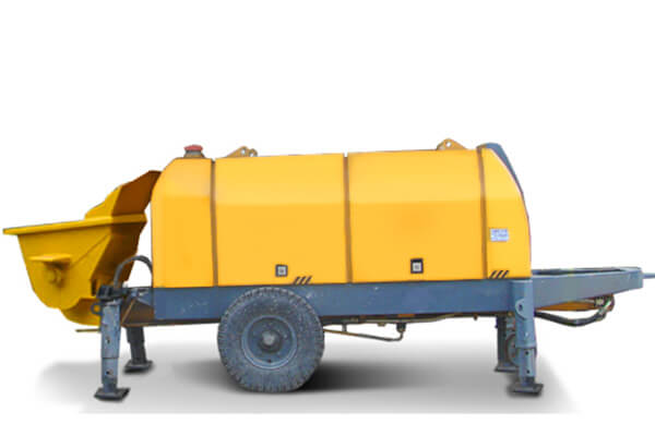 TRAILER CONCRETE PUMP HBT60.16.130RS