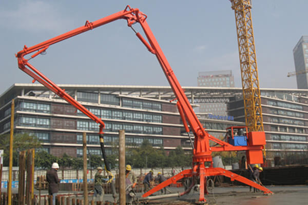 MOBILE PLACING BOOM VSPB15M