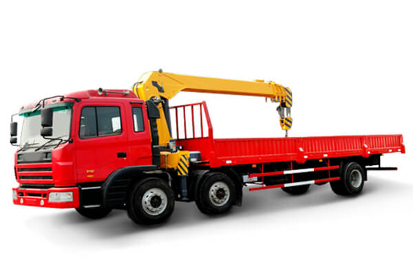 TRUCK MOUNTED CRANE WITH TELESCOPIC BOOM SQ8SK3Q