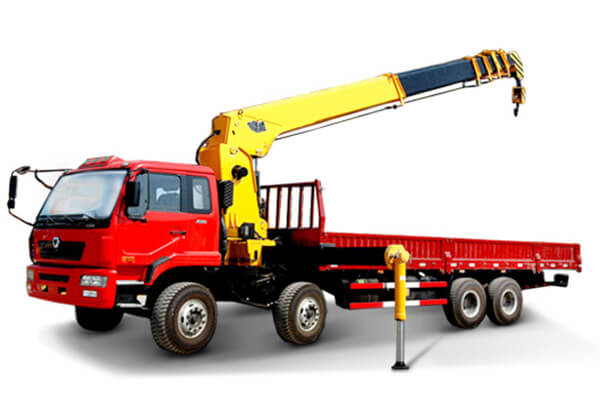 TRUCK MOUNTED CRANE WITH TELESCOPIC BOOM SQ16SK4Q