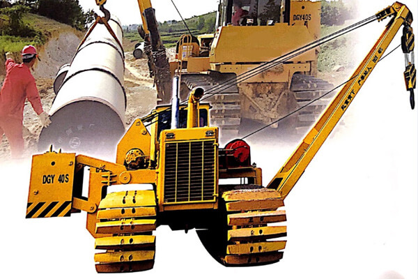 CRAWLER PIPELAYER DGY 40S