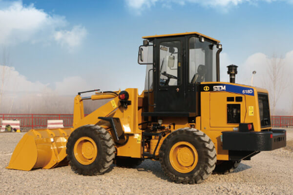 WHEEL LOADER SEM618D