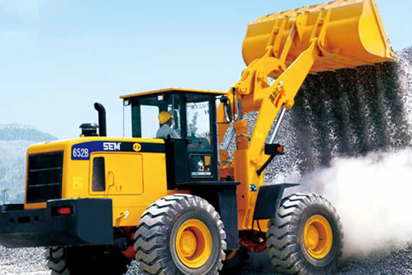 WHEEL LOADER SEM 652B