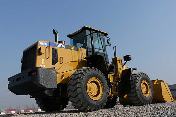 WHEEL LOADER SEM656D