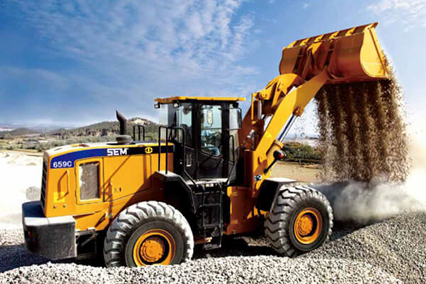 WHEEL LOADER SEM 659C