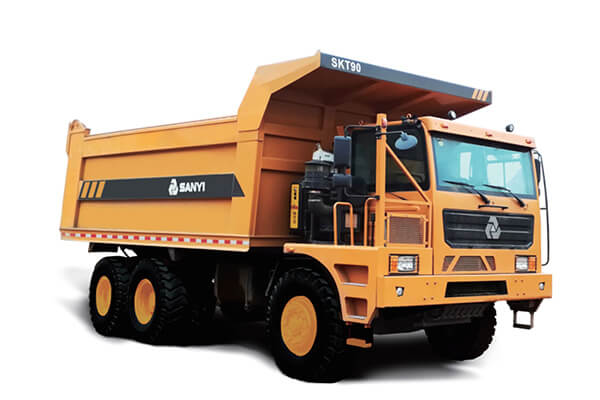 OFF HIGHWAY WIDE BODY MINING DUMP TRUCK SANY SKT90
