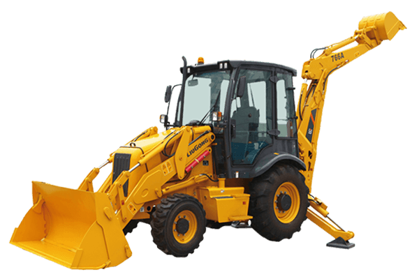BACKHOE LOADER CLG766A