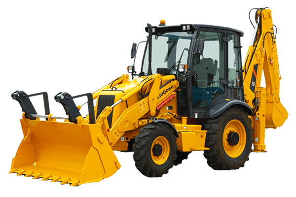 BACKHOE LOADER CLG777A