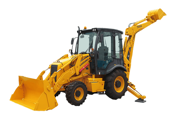 BACKHOE LOADER CLG775A