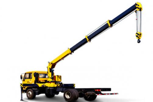 TRUCK MOUNTED CRANE WITH TELESCOPIC BOOM SQ6.3SK2Q