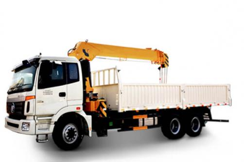 TRUCK MOUNTED CRANE WITH TELESCOPIC BOOM SQ12SK3Q