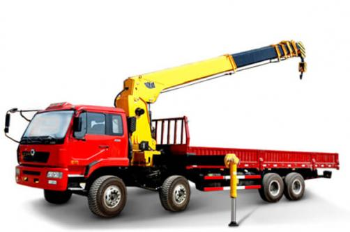 TRUCK MOUNTED CRANE WITH TELESCOPIC BOOM SQ14SK4Q