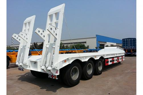 THREE AXLE LOWBED SEMI_TRAILER CIMC 100T
