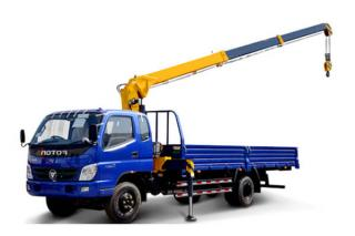 TRUCK MOUNTED CRANE WITH TELESCOPIC BOOM SQ4SK2Q
