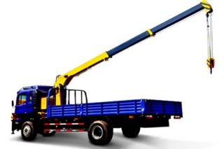 TRUCK MOUNTED CRANE WITH TELESCOPIC BOOM SQ5SK2Q