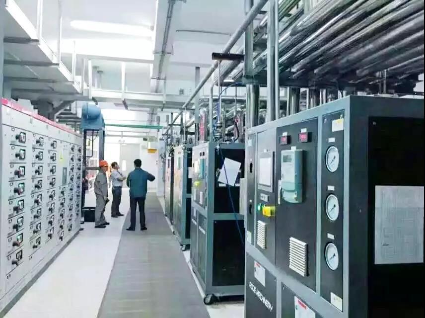 冷熱一體TCU設備在OLED生產中的應用