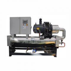 水冷螺桿低溫冷水機(單壓縮機)