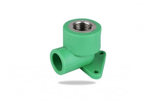 PPR FEMALE THREADED ELBOW with Disc