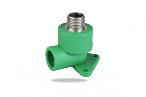 PPR MALE THREADED ELBOW with Disc