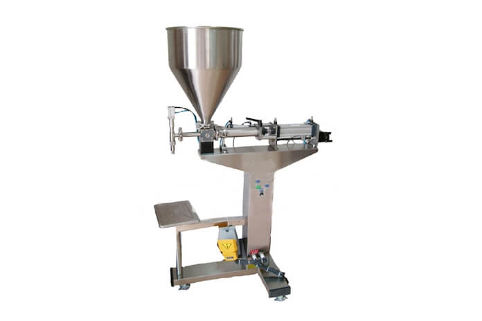 XT-TGT Series Of  Floor Type Semi-automatic Pasty Fluid Filling Machines