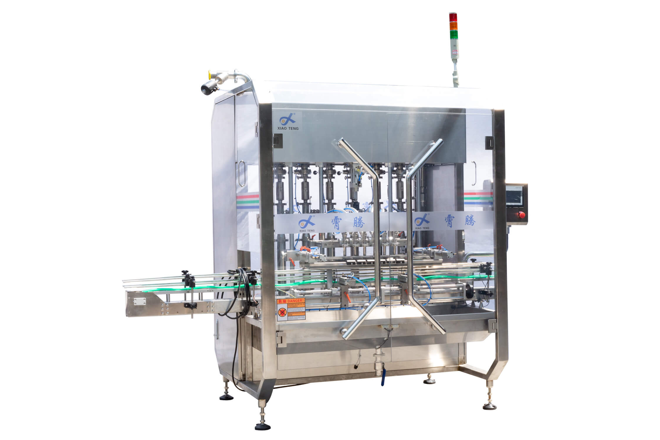 6 Heads Automatic Piston Filling Machine