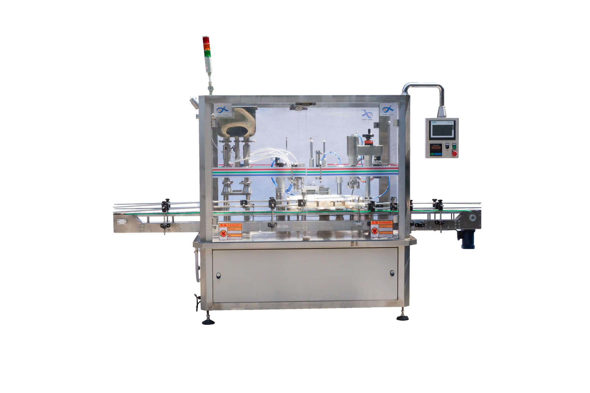 XT-DPA-4 Automatic Filling and Capping Machine