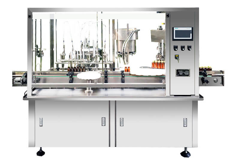 XT-DPA Essential Oil Filling Plugging and Capping Machine