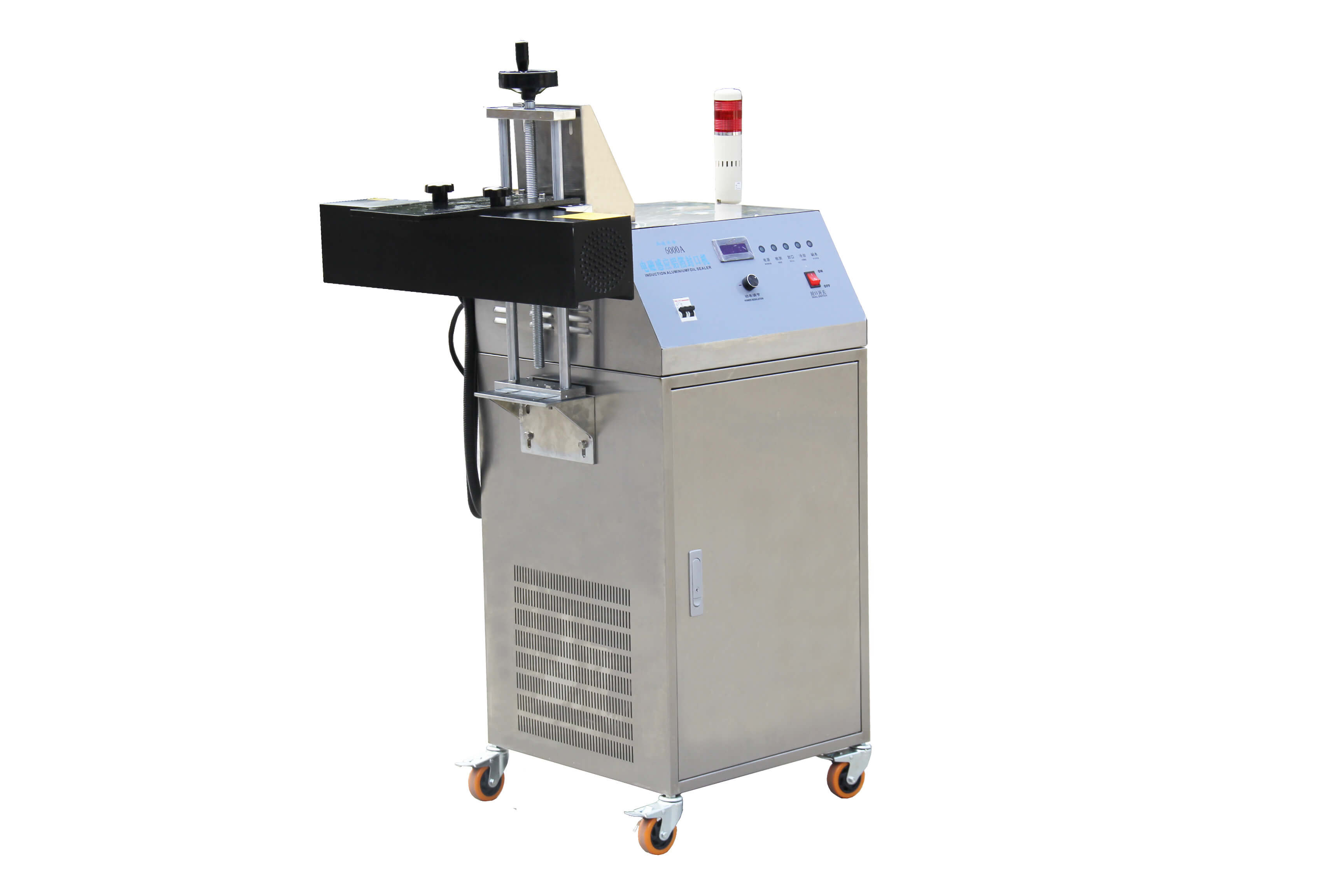 HIGH-SPEED Water Cooled Electromagnetic Induction Aluminum Foil Sealing Machine XT-6000A