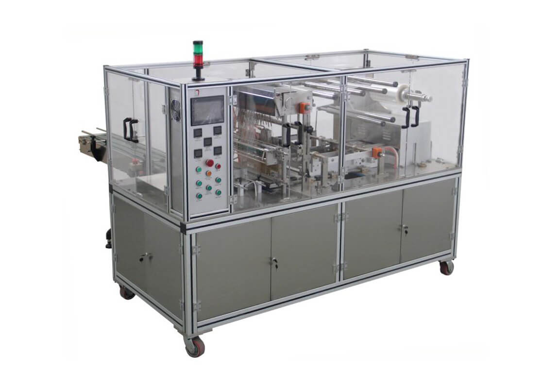 XT-SW650Type Adjustable Cellophane Tri-dimensiona Overwrapping Machine (With Tear Tape)