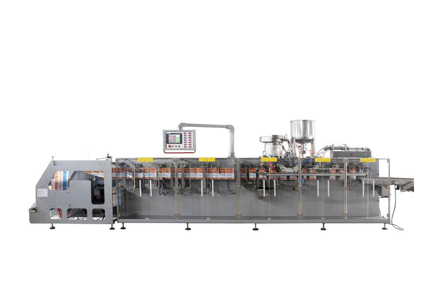 XT-DS-180SXC Horizontal Doypack Packing Machine with Spout In The Side