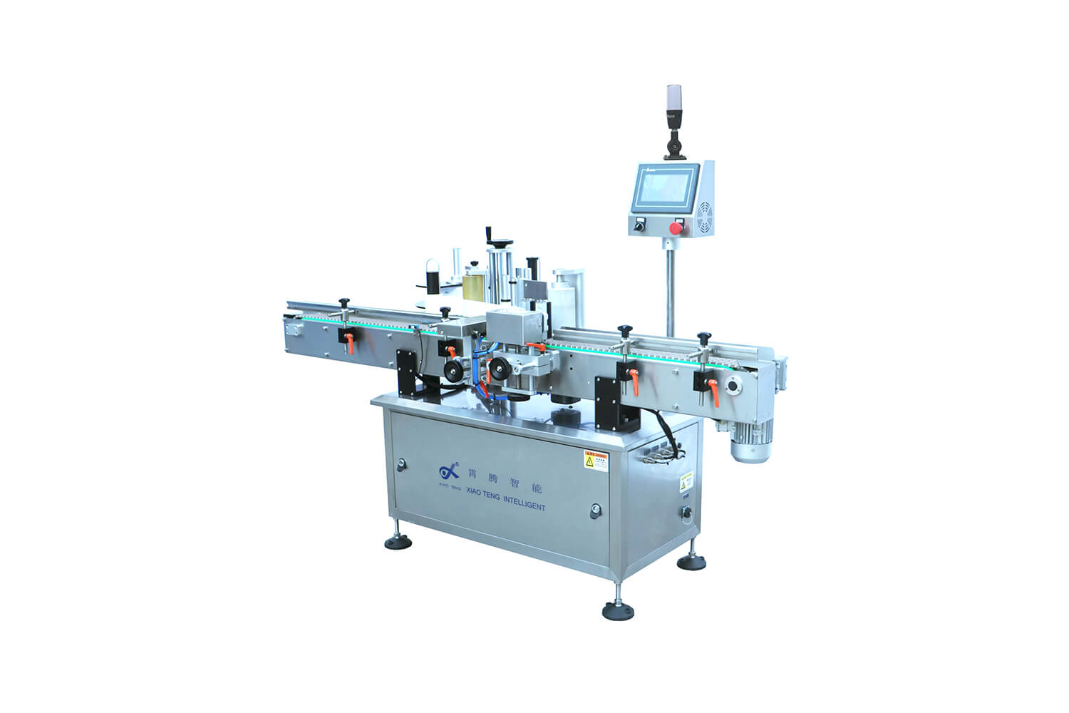 XT-100 Vertical Round Bottle Fixed-point Labeling Machine
