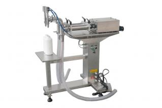 XT-TGT Series Of Semi-auto Double-nuzzle Liquid Filling Machines