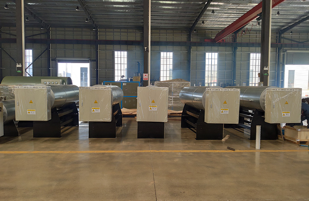70kw / 240kw / 360kw / 450kw electric air heaters for 0.6M/1.6M/2.4M/3.2M Width Meltblown fabric production in stock