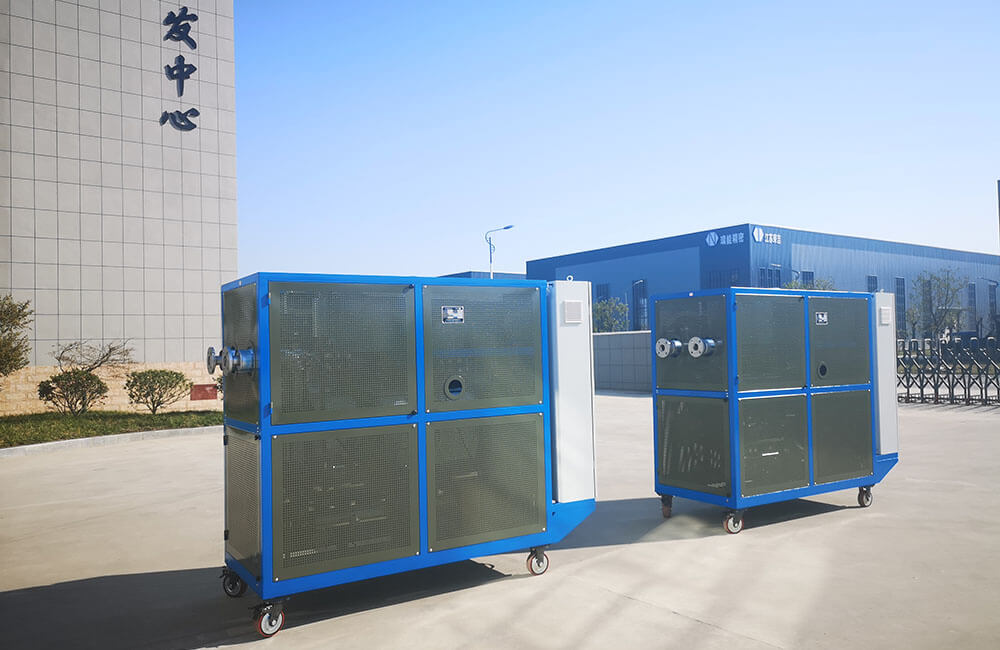 100KW  skid mounted unit electric thermal oil heater