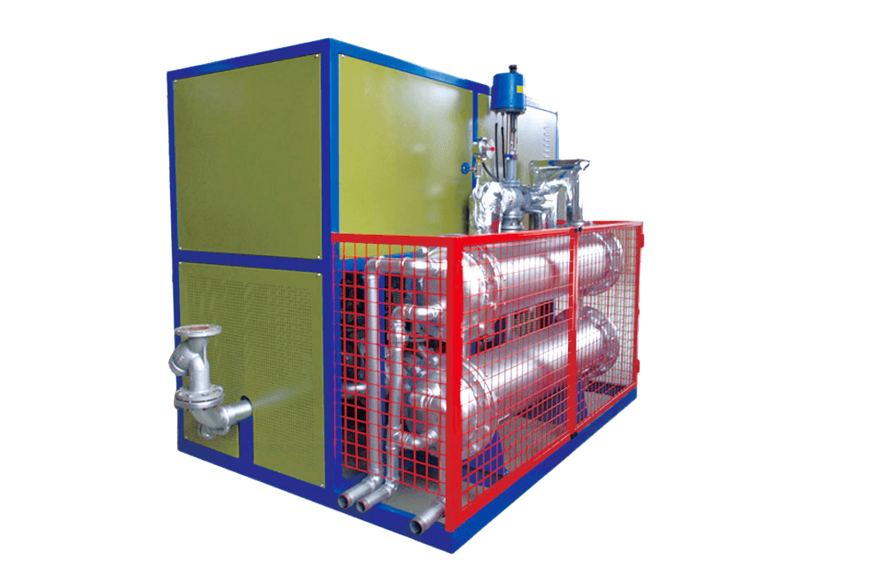 240KW thermal fluid hot oil heater with cooling unit